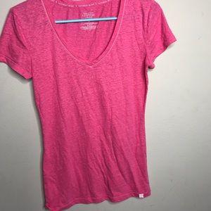 [Victoria's Secret] Hot Pink Lingerie Shirt